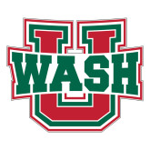 Large Decal-WashU, 12 inches wide