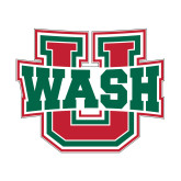 Small Decal-WashU, 6 inches wide