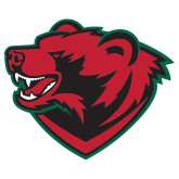 Extra Large Decal-Bear Head, 18 inches wide