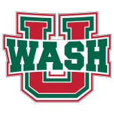 Extra Large Decal-WashU, 18 inches wide