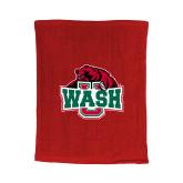 Red Rally Towel-Wash U w/Bear