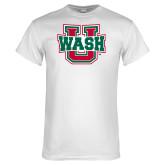 White T Shirt-WashU