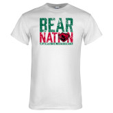 White T Shirt-Bear Nation