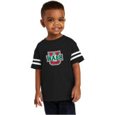Toddler Black Jersey Tee-WashU