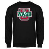 Black Fleece Crew-WashU