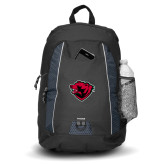 Impulse Black Backpack-Bear Head
