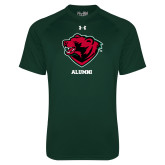 Under Armour Dark Green Tech Tee-Alumni