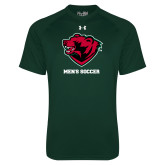 Under Armour Dark Green Tech Tee-Mens Soccer