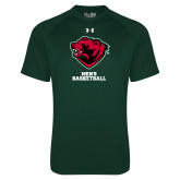 Under Armour Dark Green Tech Tee-Mens Basketball