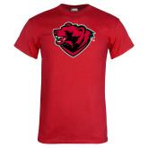 Red T Shirt-Bear Head