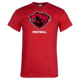Red T Shirt-Football