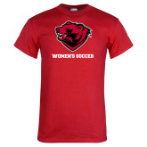 Red T Shirt-Womens Soccer