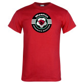 Red T Shirt-Womens Soccer Design