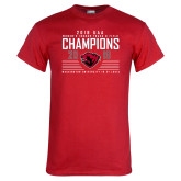 Red T Shirt-2019 UAA Womens Indoor Track and Field Champions