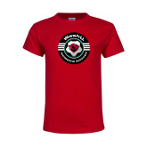 Youth Red T Shirt-Womens Soccer Design