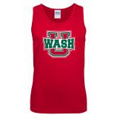 Red Tank Top-WashU