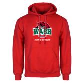 Red Fleece Hoodie-Mens Soccer