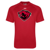 Under Armour Red Tech Tee-Bear Head