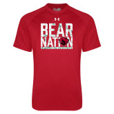 Under Armour Red Tech Tee-Bear Nation