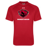 Under Armour Red Tech Tee-Womens Soccer