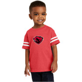 Toddler Vintage Red Jersey Tee-Bear Head