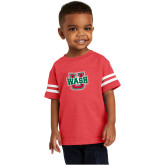 Toddler Vintage Red Jersey Tee-WashU