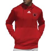 Adidas Red Team Issue Hoodie-Bear Head