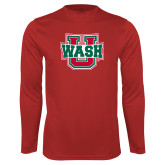 Performance Red Longsleeve Shirt-Wash U