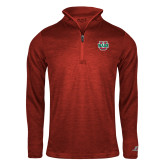 Russell Red Heather 1/4 Zip-WashU