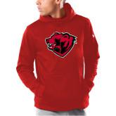 Under Armour Red Armour Fleece Hoodie-Bear Head