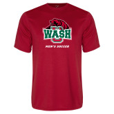 Performance Red Tee-Mens Soccer