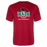 Performance Red Tee-Mens Basketball