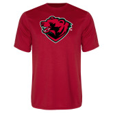 Performance Red Tee-Bear Head