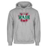 Grey Fleece Hoodie-Wash U