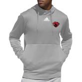 Adidas Grey Team Issue Hoodie-Bear Head
