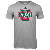 Adidas Climalite Sport Grey Ultimate Performance Tee-WashU