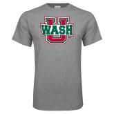 Grey T Shirt-WashU