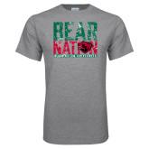 Grey T Shirt-Bear Nation