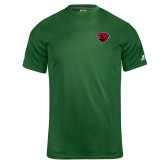 Russell Core Performance Dark Green Tee-Bear Head