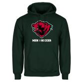 Dark Green Fleece Hood-Mens Soccer