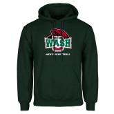 Dark Green Fleece Hood-Mens Basketball