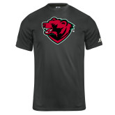 Russell Core Performance Charcoal Tee-Bear Head