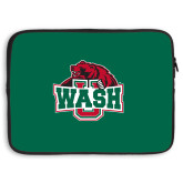 15 inch Neoprene Laptop Sleeve-Wash U w/Bear