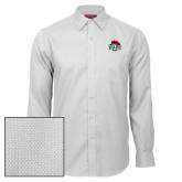 Red House White Diamond Dobby Long Sleeve Shirt-Wash U w/Bear