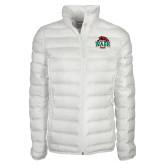Columbia Lake 22 Ladies White Jacket-Wash U w/Bear