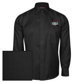 Red House Black Herringbone Long Sleeve Shirt-Wash U w/Bear