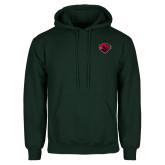 Dark Green Fleece Hood-Bear Head