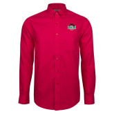Red House Red Long Sleeve Shirt-Wash U w/Bear
