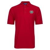 Red Easycare Pique Polo-Wash U