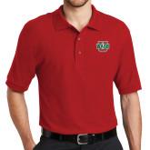 Red Easycare Pique Polo-WashU